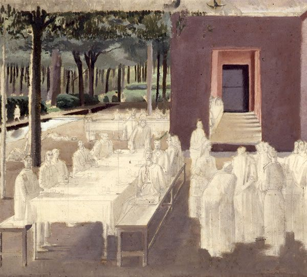 Study for the Marriage at Cana, circa 1923 -
