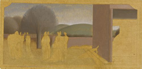 Study for �Scenes from the Life of St Martin of Tours�, circa 1929 -