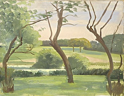 Landscape around Leyswood, late 1940s -