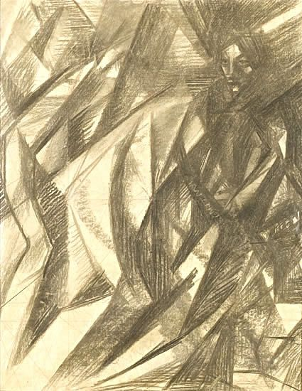 Study for �The Fifth Station, The Cross is laid upon Simon of Cyrene�, circa 1960 -