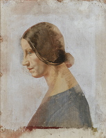 Artist Sir Thomas Monnington: Portrait of Winifred Knights, circa 1931