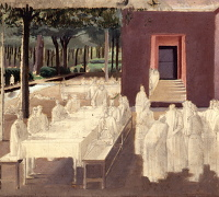 Artist Winifred Knights: Study for the Marriage at Cana, circa 1923
