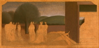 Artist Winifred Knights: Study for Scenes from the Life of St Martin of Tours, circa 1929