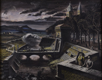 Artist Alan Sorrell: The Evening Signal, 1940