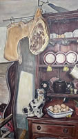 Artist Stanley Lewis: The Welsh Dresser, 1955